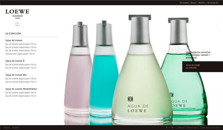tienda propia perfumes loewe